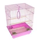 """Клетка для птиц """"Gold"""" (прямая крыша), 30 х 23 х 39 см"""
