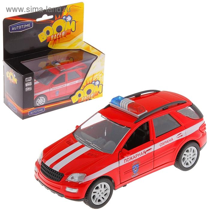 "Модель машины пожарная охрана ""Germany allroad"", масштаб 1:36"