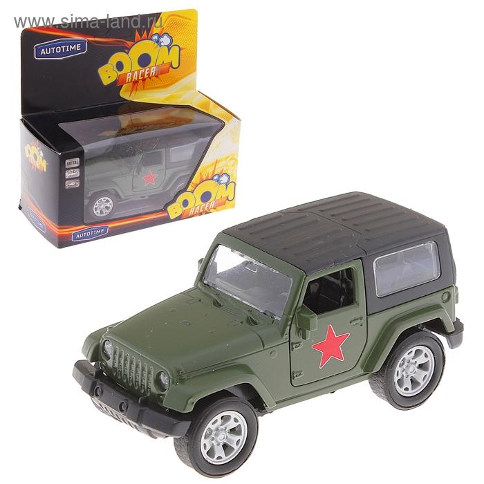 "Модель машины армейская ""USA Allroad 4WD"", масштаб 1:36"