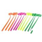 Ручка шариковая-прикол Цветы-Четырехлистный клевер удачи МИКС