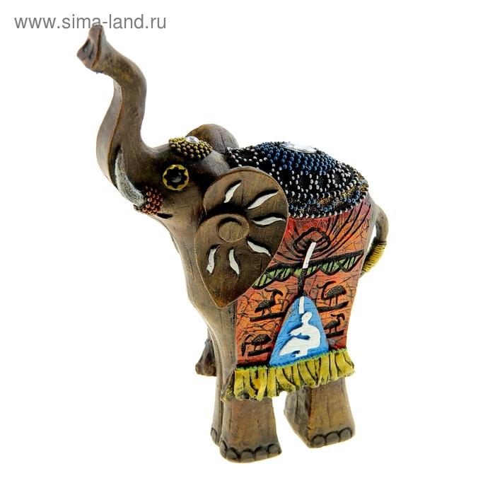 """Сувенир """"Этнический слон солнечный"""""""