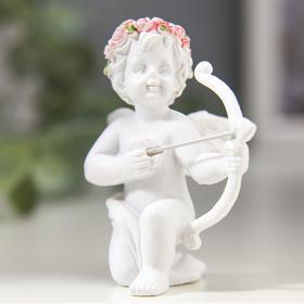 """Сувенир """"Купидон в венке из роз"""", МИКС - фото 1699471"""