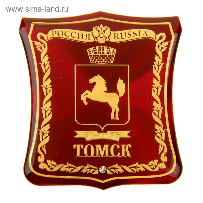 """Магнит герб """"Томск"""""""