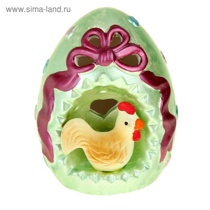 """Сувенир световой """"Яйцо с курочкой"""" под фарфор, МИКС"""