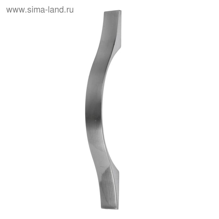 "Ручка мебельная (арт.404) 96 мм, цвет ""сатин"""