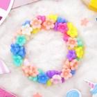 """Bracelet child """"Vibracula"""" a bunch of flowers, color"""
