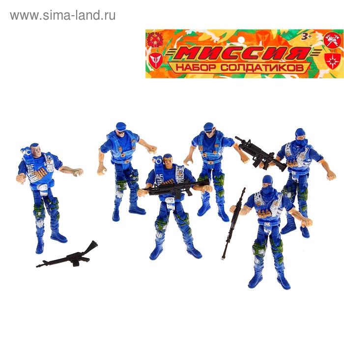 """Набор солдатиков """"Полицейские"""""""