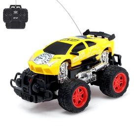 Машина радиоуправляемая «Супергонщик», с аккумулятором, цвета МИКС