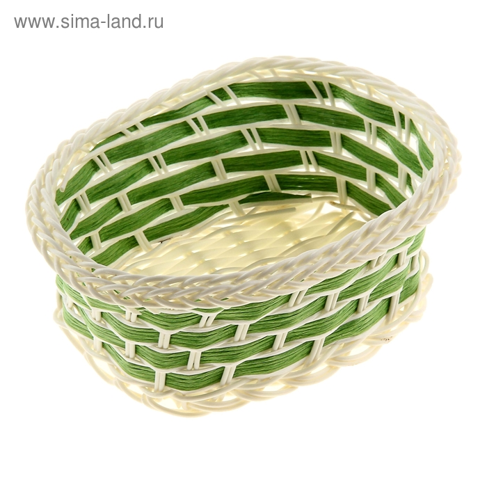 "Корзинка декоративная ""Зелёная"""
