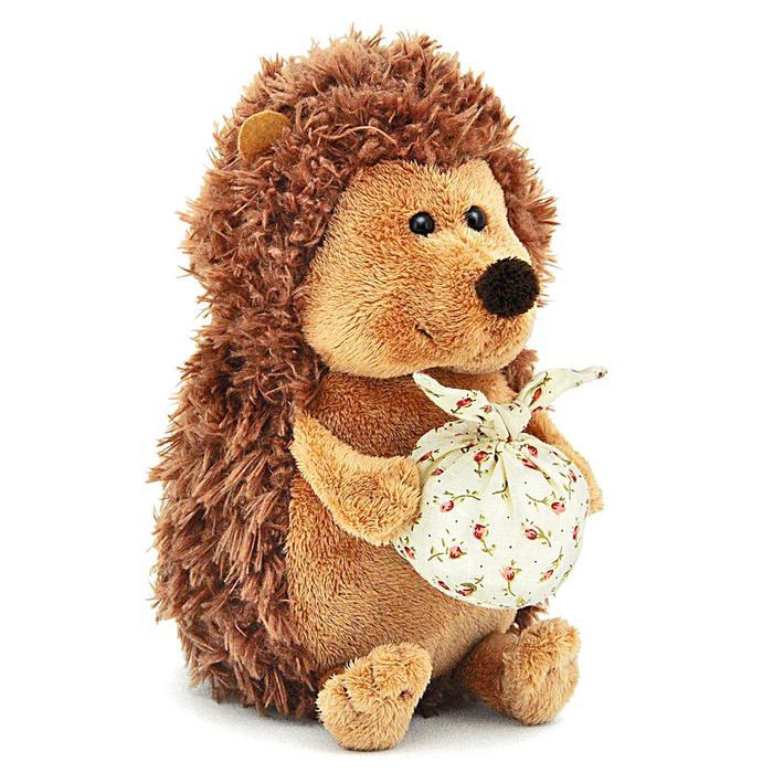 Мягкая игрушка «Ёжик Колюнчик» с узелочком, 15 см - фото 4467304