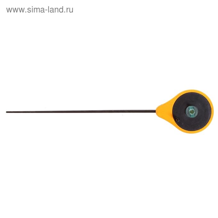 Удочка зимняя  Precise Drag, цвет желтый