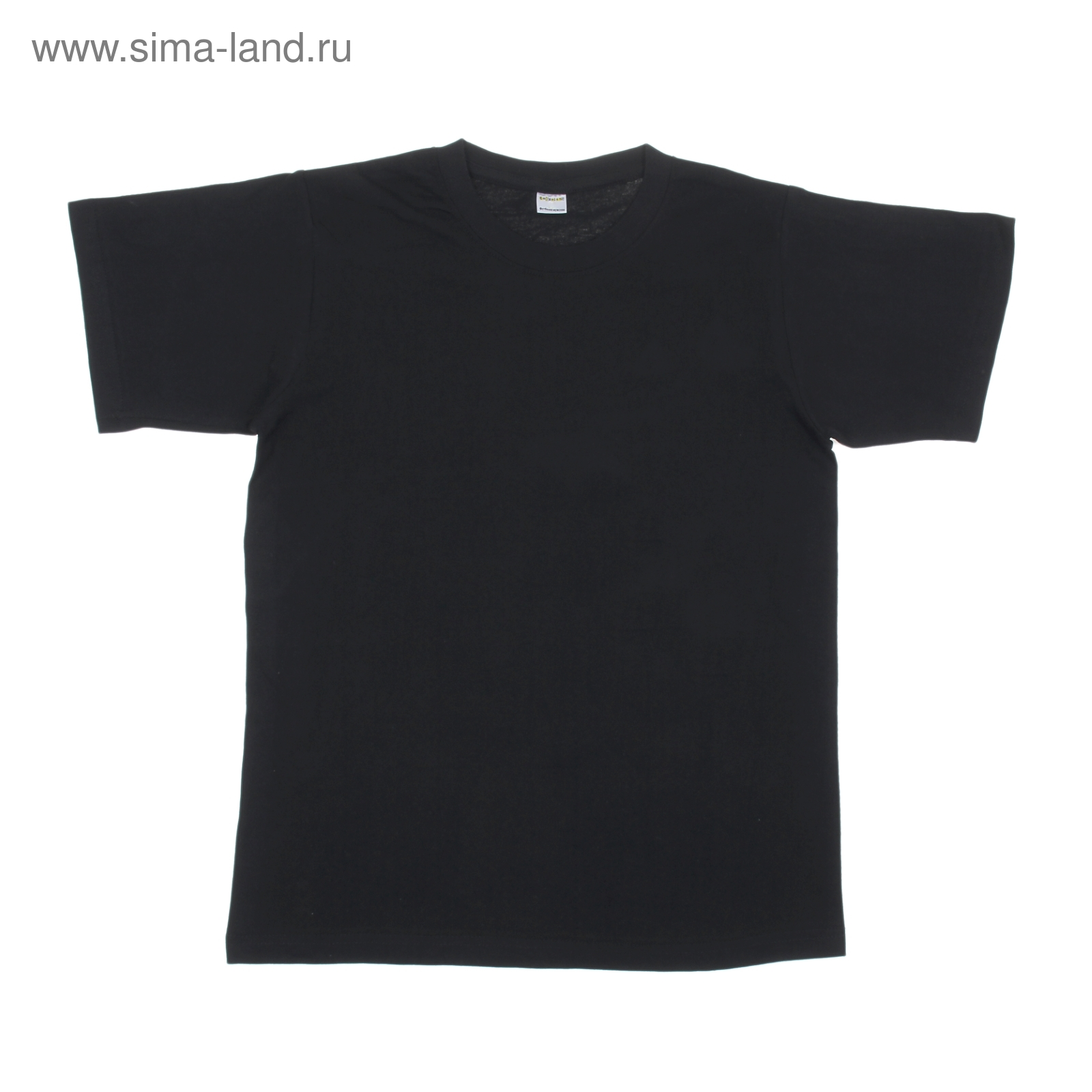 d4fc8fc7bb667 Футболка мужская чёрная Collorista, размер XL (50), 100% хлопок ...