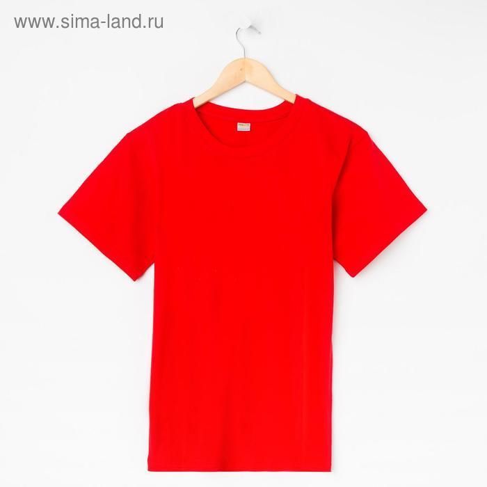 Футболка мужская Collorista, размер XXL (52), цвет красный