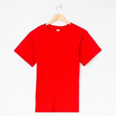 Футболка мужская Collorista, размер M (46), цвет красный