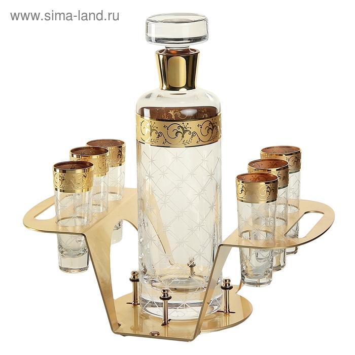 Набор для водки Stolichnaya (графин 1000 мл, 6 стопок)