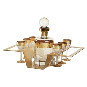 Набор для водки Ouzo (графин 1000 мл, 6 рюмок)
