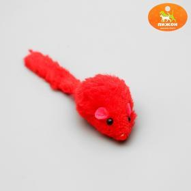 """Игрушка для кошек """"Мышь малая"""" цветная, 5 см, микс цветов"""