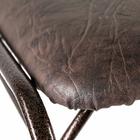 Подставка для обуви с сиденьем 2 яруса 89×30×45 см, цвет медный антик - фото 879034