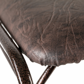 Подставка для обуви с сиденьем 2 яруса 89×30×45 см, цвет медный антик - фото 4643294