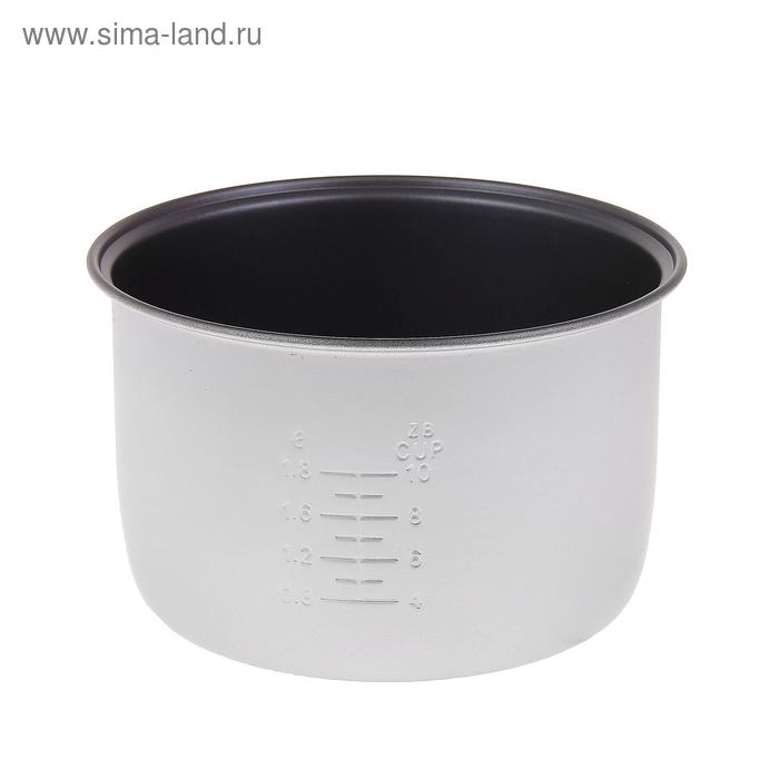 Чаша для мультиварки Vigor HX-3750, высота чаши 14,5 см, диаметр чаши 23,5 см