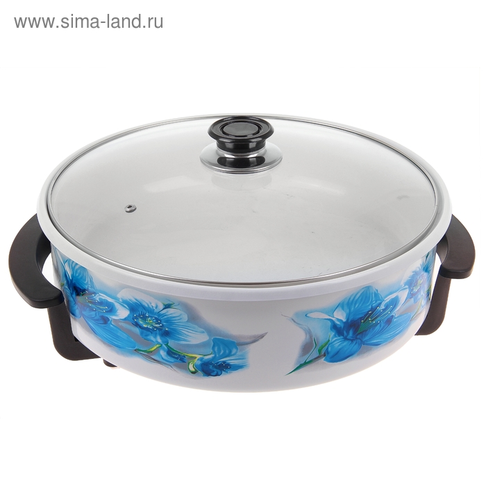 "Печь-сковорода ""Великие реки"" Волшебница-5, 1500 Вт, d=36 см, глубина 7 см, шнур 1,1 м"