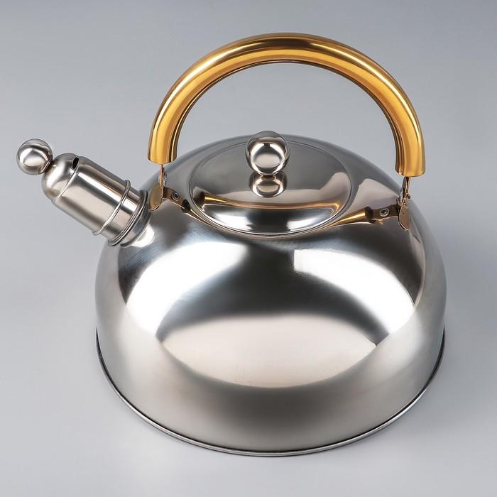 """Чайник со свистком """"Роскошь"""", макс. объем 2,3 л"""