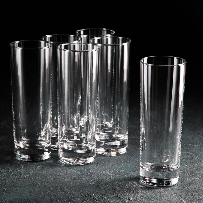 Набор стаканов для пива высоких Side, 290 мл, 6 шт - фото 308063677