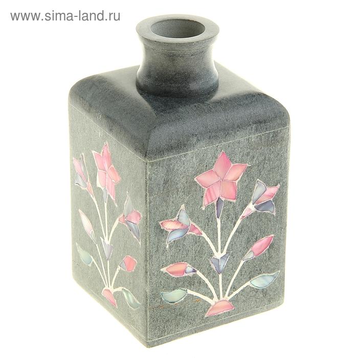 """Диффузор из камня для благовоний """"Розовый цветок"""""""