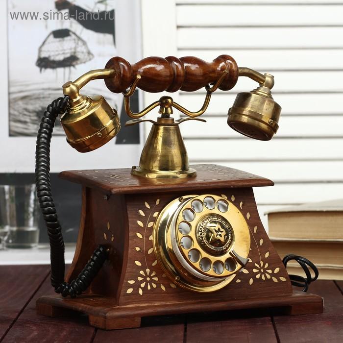 """Телефон в деревянном корпусе """"Эпоха"""""""