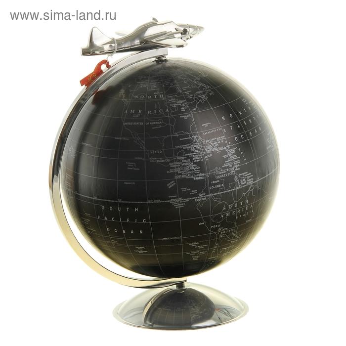 """Глобус сувенирный """"Аэроплан"""""""