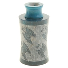 """Диффузор из камня для благовоний """"Бабочки"""" в форме цилиндра"""