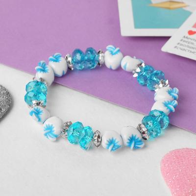 """Bracelet child """"Vibracula"""" apples, the color blue"""