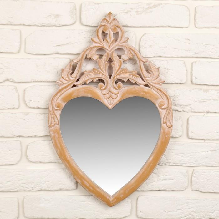"""Зеркало """"Сердце"""", резное"""