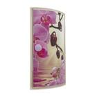 """Шкафчик для ванной комнаты """"Орхидея"""", угловой"""