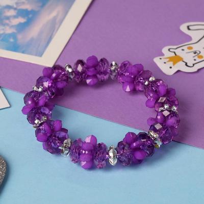 """Bracelet child """"Vibracula"""" carousel, color purple"""