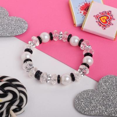 "Bracelet child ""Vibracula"" Ondine, color white"