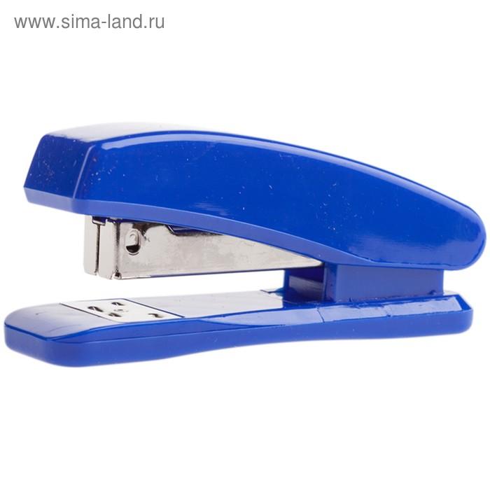 Степлер №24/6 20 листов OfficeSpace пластиковый копус синий