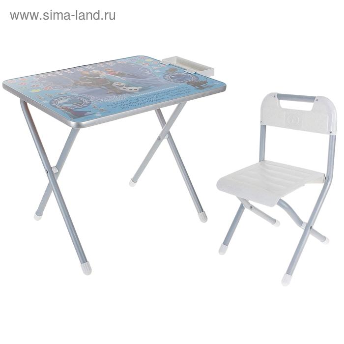 """Набор детской мебели """"Дэми"""" №1. Холодное сердце"""" складной, цвет серебро"""