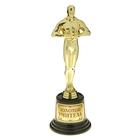 """Мужская фигура. Оскар на пластиковой подставке """"Золотой учитель"""""""