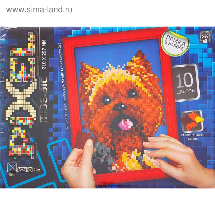 "Мягкая мозаика ""Pixel. Собака"""