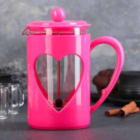 """The plunger 800 ml """"Compliment"""", color raspberry"""