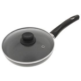 Сковорода с антипригарным покрытием 20 см Class с крышкой