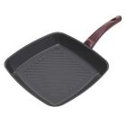 Сковорода-гриль 26x26 см Asoss с антипригарным покрытием