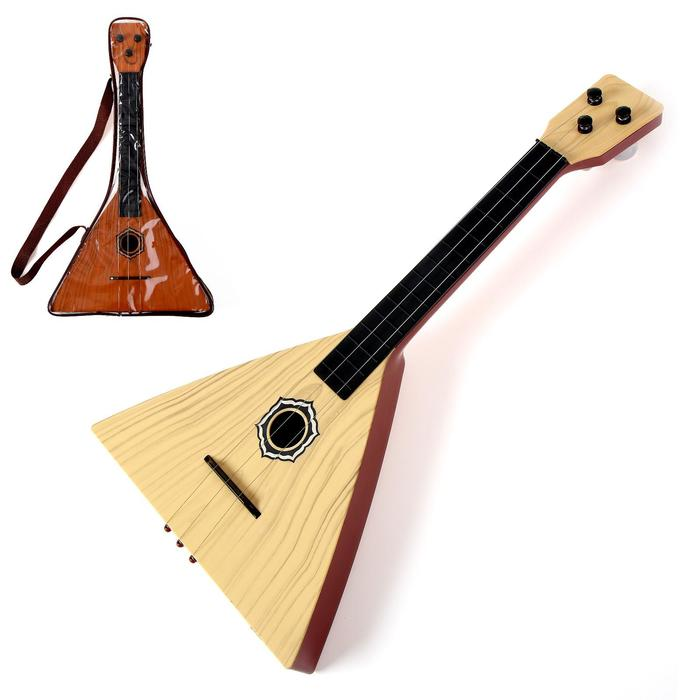 Музыкальная игрушка балалайка «Классика», цвета МИКС