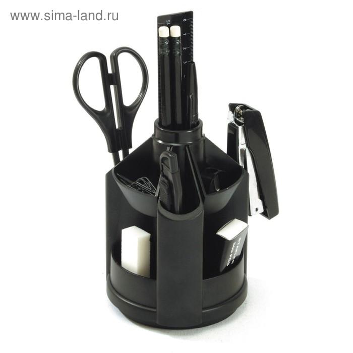 Набор настольный 12 предметов Mini Desk Fregatte, черный, EK 77