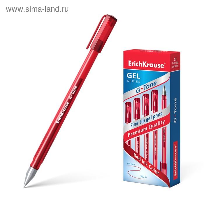 Ручка гелевая стандарт Erich Kraus G-TONE стержень красный, узел 0.5мм, EK 17811