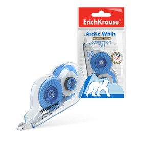 Erich Krause TECHNO WHITE MINI Correction Tape 4.2 mm x 5 meters, in a bag.