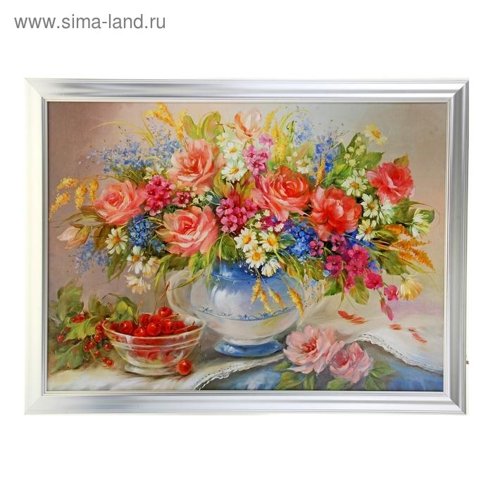 """Картина """"Полевые цветы в вазе"""""""