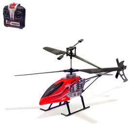 Вертолёт радиоуправляемый 'Крутой вираж', световые эффекты, МИКС Ош