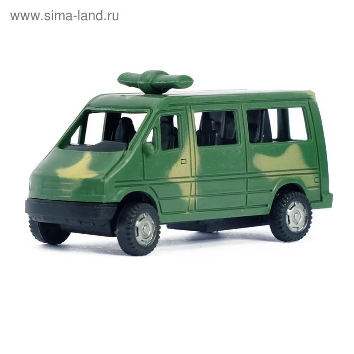 """Машина инерционная """"Военный фургон"""", цвета МИКС"""